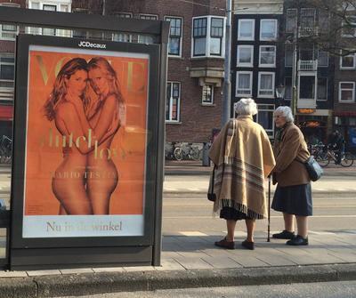 """""""Всё проходит..."""" Амстердам Amsterdam остановка"""