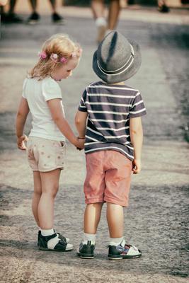 Случайный кадр Дружба дети