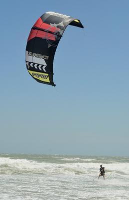 *** Кайтсерфинг Море Ветер Вьетнам