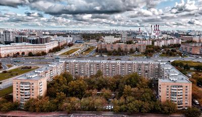 Осенний Ленинский проспект Ленинский проспект