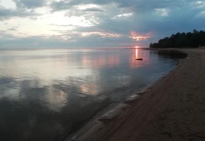 Берег Финского залива. Штиль