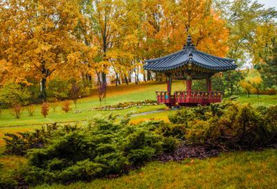 Беседка Осень