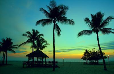 Закат на Борнео