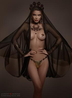 Рубиновая красавица Шахерезада рубины украшения сказка роскошь драгоценности обнажение очарование мечта восток женщина девушка шикарная
