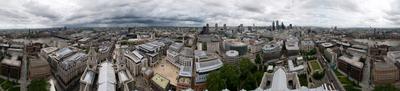 ВЕСЬ ЛОНДОН - 2010 Лондон панорама