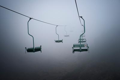 Дорога в никуда туман