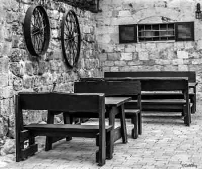 Zykhron Yaakov, Street Cafe Israel Zykhron Yaakov