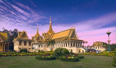 Королевский дворец Камбоджа Пномпень