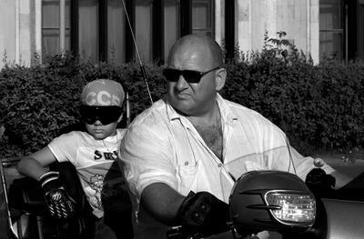 потому что мы - БАНДА байк байкер мотоцикл питер лето фестиваль