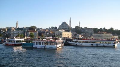 *** Стамбул, İstanbul, мечеть Сулеймание