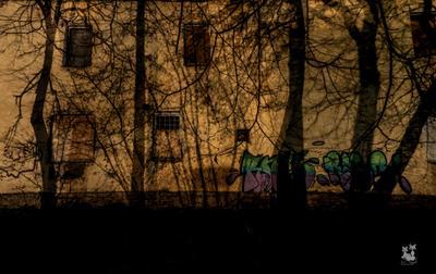 """Paints of shadows - """"la mystique de ville"""""""