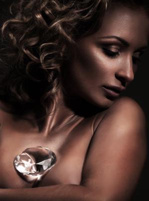 *** бриллиант, портрет, девушка