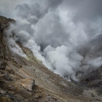 ***Дыхание Мутновского*** вулкан Мутновский Камчатка