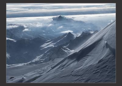 Кавказ подо мною, один и т.д.... Кавказ небо горы снег солнце