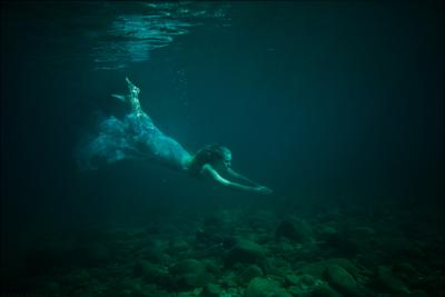 Once upon a time... tatiana, mikhina, underwater