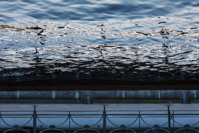 узор река отражение