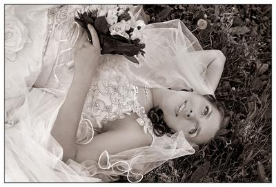 Из летних воспоминаний... невеста, свадьба, лето.
