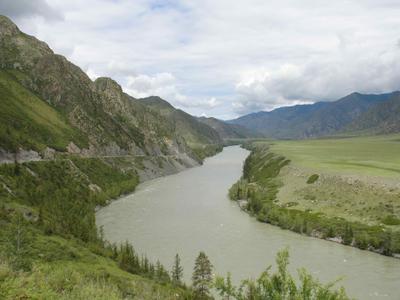 Алтай. Река Катунь