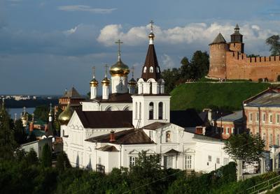 Церковь Ильи Пророка на ул. Ильинская, г. Нижний Новгород. Храм церковь кремль старый город