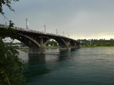 Мост в Иркутске мосты Иркутск