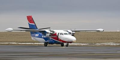 L410 UVP*E20 авиация самолеты аэродром турболёт aircraft airliner
