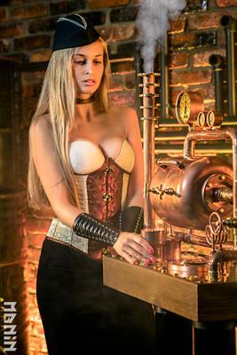 Время пара стимпанк steampunk steam girl sexy пар дизельпанк
