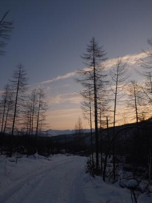 Якутский рассвет