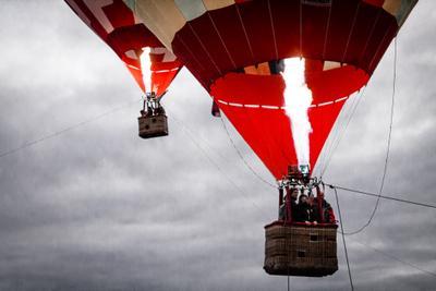 balloons balloons air show