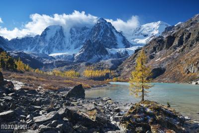Верхнешавлинское озеро, Горный Алтай Алтай осень пейзаж фото-тур