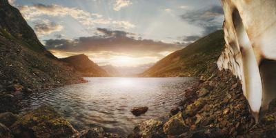 Архыз. Семицветное озеро архыз горы карачаево-черкессия закат семицветное озеро путешествие