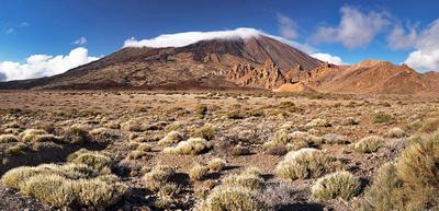 Сегодня Тейде открылась! Испания Тенерифе Тейде Канарские острова вулкан гора небо облака кратер природа пейзаж заповедник парк