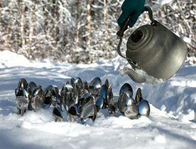 Зимний полив:)