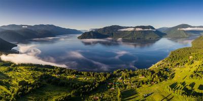 Утро нового дня Алтай Телецкое озеро