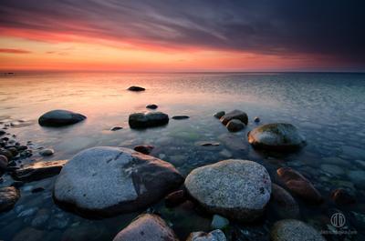Банально про камни рюген балтика германия пейзаж