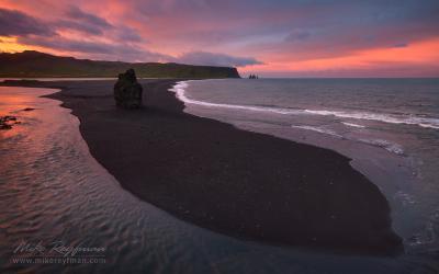 Язык Рейнисфъяры Reynisfjara Iceland Arctic worldphototravels.com