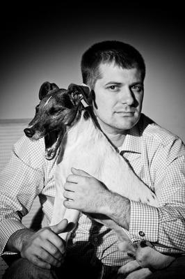 Мужчина с собакой мужчина собака