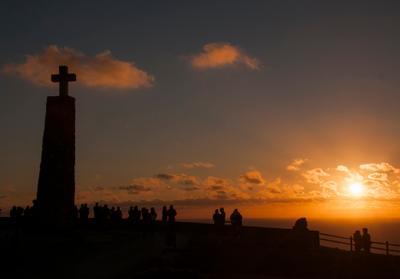 Cabo da Roca мыс рока португалия пейзаж