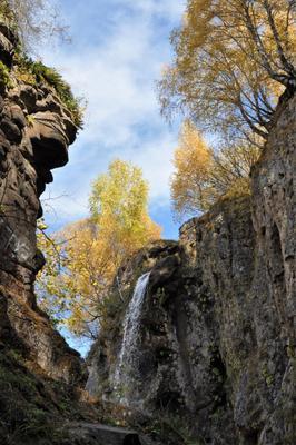 Осень на Медовых водопадах Карачаево-Черкесия Медовые водопады
