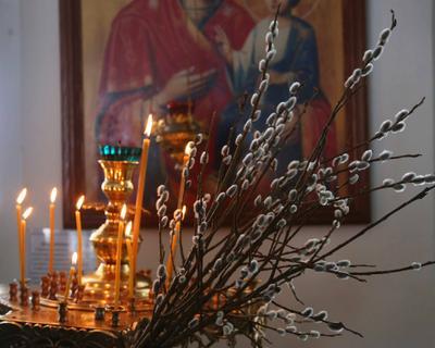 Вербное воскресенье в храме верба храм