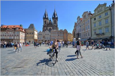 Из альбома «Прогулки по Праге» Прага