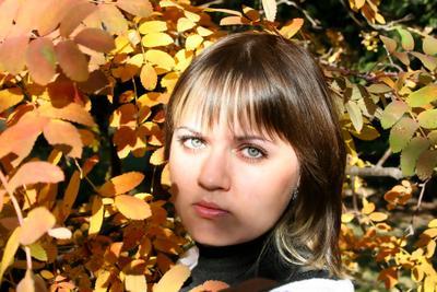 Осень осень девушка грусть
