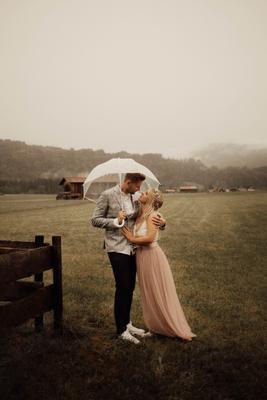 в горах Баварии озеро пара свадьба фотопрогулка германия фотограф