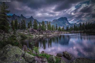 Озеро Художников Ергаки горы пейзаж природа beautiful landschaften Travel