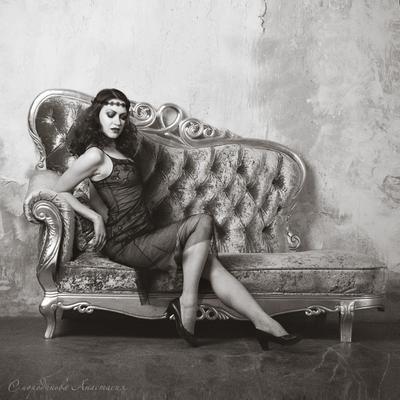 Актриса немого кино