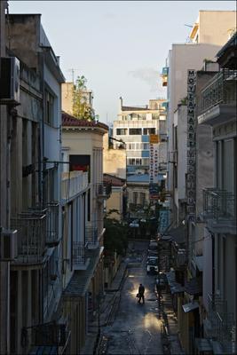 Утро a Афинах
