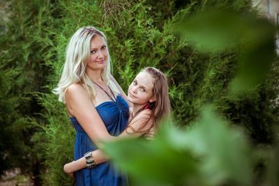 С любимой племянницей