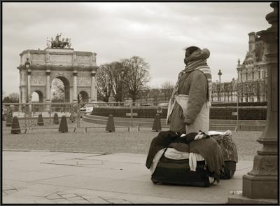 Париж. Весна прохладной выдалась... Весна Париж Лувр
