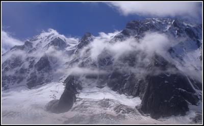 Легкая облачность ... Альпы