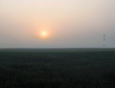 Ваби-Саби. пейзаж восход природа загородная