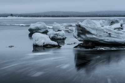 Ледниковый период. Карелия север путешествия море льды полярный круг зима приключения белое